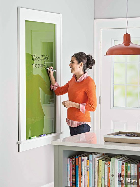 Need a fun DIY project for the weekend? Take a peek at our favorite affordable projects that cost less than $20. Some of the highlights include: replacing a window treatment, making a message board and refurbishing a bookcase.