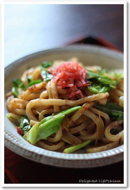 Yakiudon, Japanese Noodles 焼きうどん