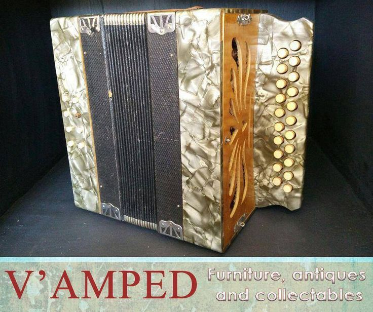 Do you love music? This Weltmeister button accordion is now available from #VampedFurniture. Visit us in-store or contact Rory on 076 983 4008 for more information.