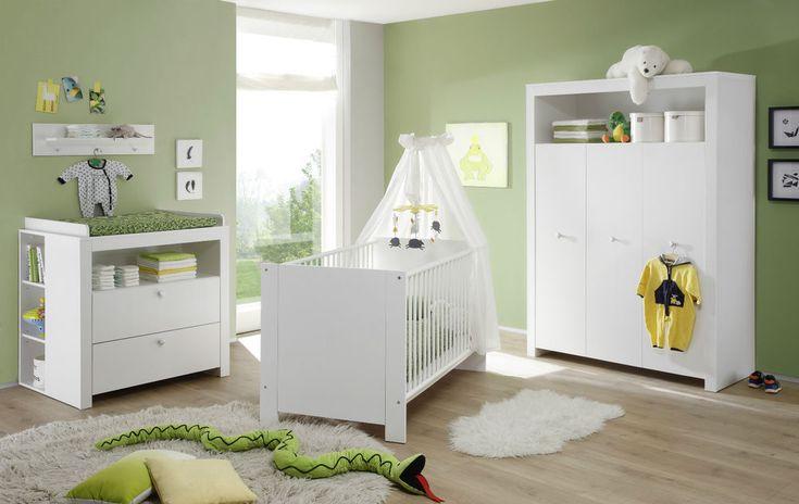 Die besten 25+ Babyzimmer komplett set Ideen auf Pinterest - schlafzimmer komplett weiß