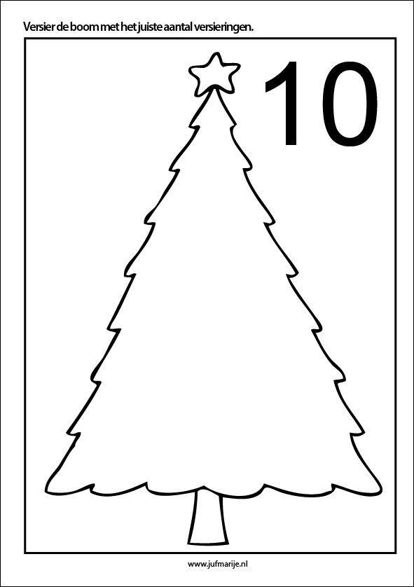 Kleikaarten Kerst