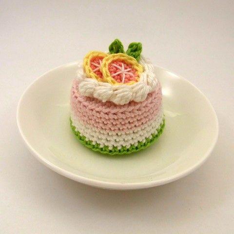 Grapefruit Cake by Bibuki on Etsy, $22.00
