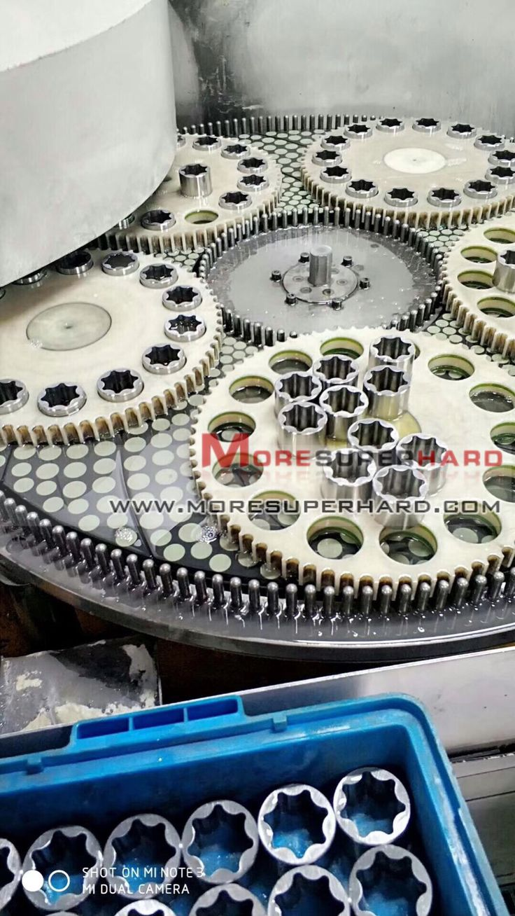 Vitrified bond double grinding disc Mainly used for