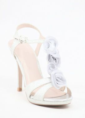 "Bridesmaid shoe!!!  Silver dress shoes (Style ""Kristine"" 200-71) from shopZoey.com"
