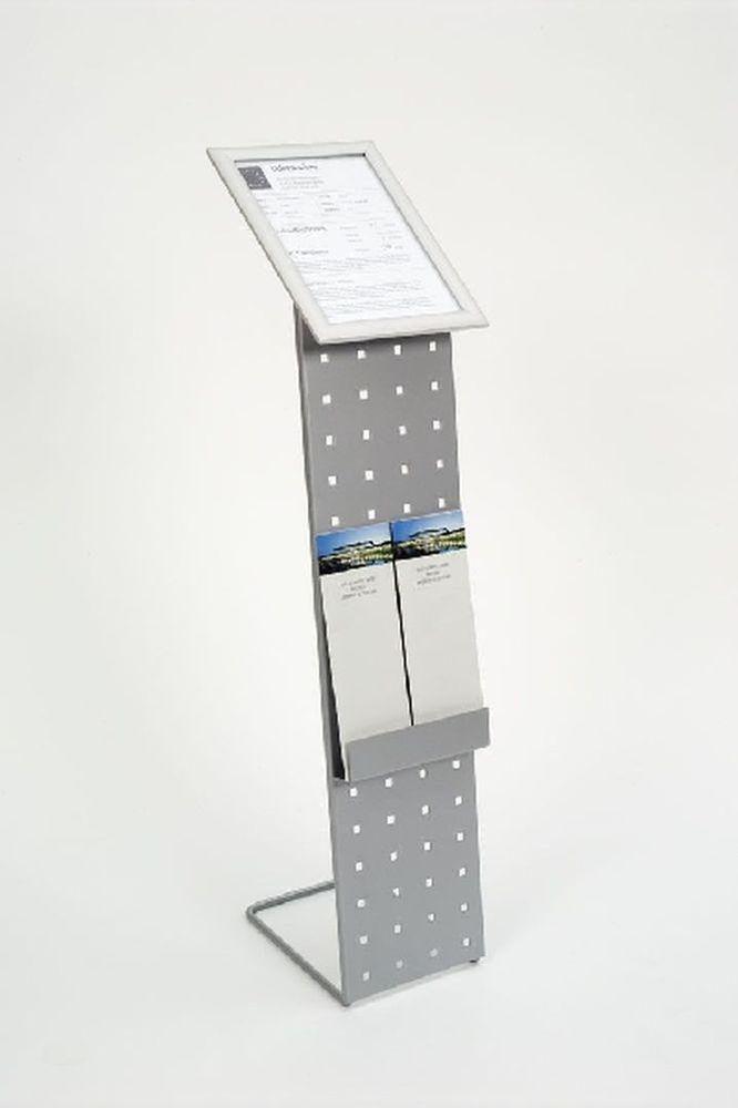 Infoständer zur Bodenaufstellung im Industriedesign Sonderpreis Prospektständer