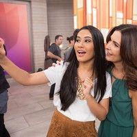 Thaynara OG assume Snapchat do Gshow e mostra os bastidores do 'Encontro'