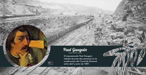 En la construcción del Canal de Panamá participó un gran artista. ¿Sabes de quién se trata?