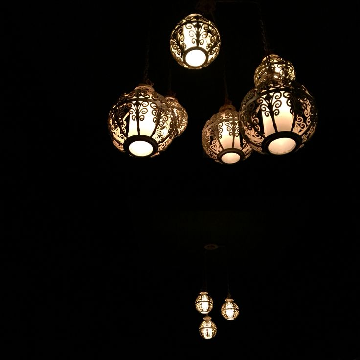 Sixties Swag Lamps At The Dresden In LosFeliz Est