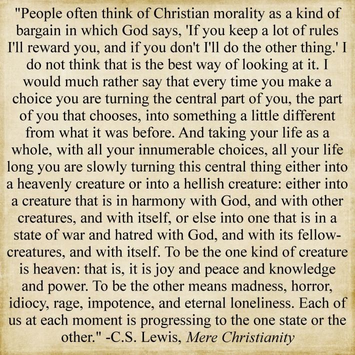 an analysis of the laws of nature in mere christianity by cs lewis The official website for c s lewis browse a complete collection of his books, sign up for a monthly enewsletter, find additional resources, and more.