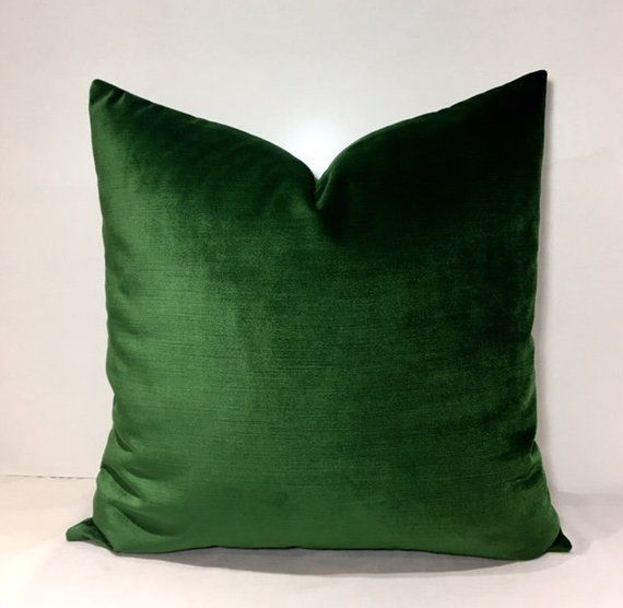 Luxury Grass Green Velvet Throw Pillows Velvet Pillow Cover Green Pillow Decorative Pillows Velvet C Green Velvet Pillow Velvet Throw Pillows Green Pillows