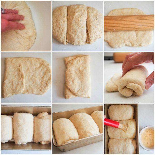 Dividing Rolling And Folding Japanese Milk Bread In 2020 Japanese Milk Bread Milk Bread Recipe Japanese Bread