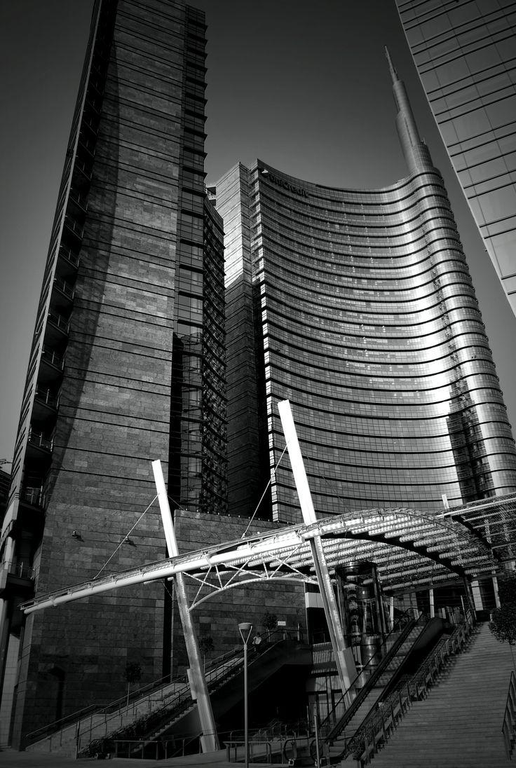 Unicredit tower, 2009-11 César Pelli, Milano. MilanoArte
