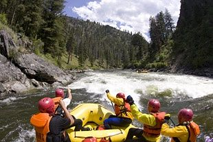 Rafting the middle fork of Salmon River - my dad and I go every other June