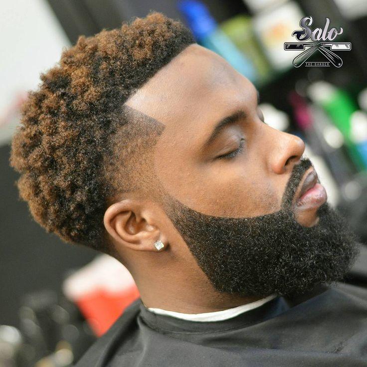 Ducktail Beard style for black men