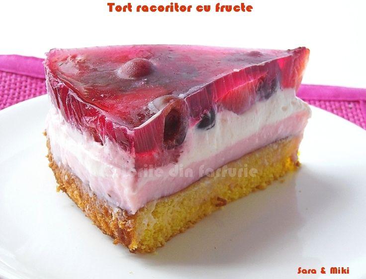 Tort racoritor cu fructe ~ Culorile din farfurie