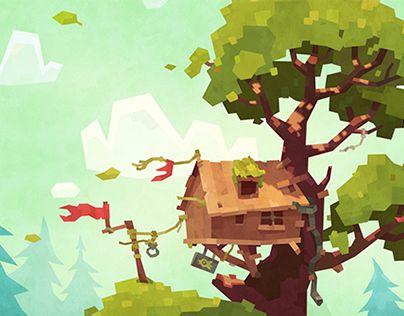 다음 @Behance 프로젝트 확인: \u201cForest\u201d https://www.behance.net/gallery/20872911/Forest