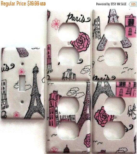 On Sale Now Paris Eiffel Tower Sparkel By Chriscraftiedecor Paris Theme Bedroomsparis