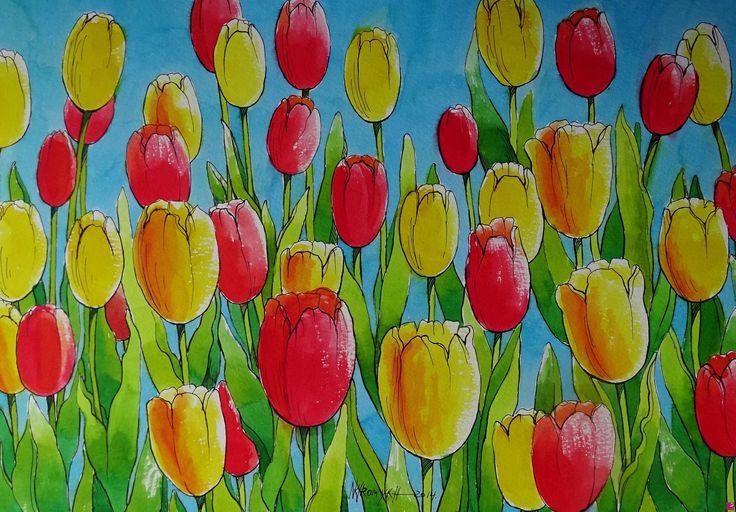 tulipani di Natalia Khromykh