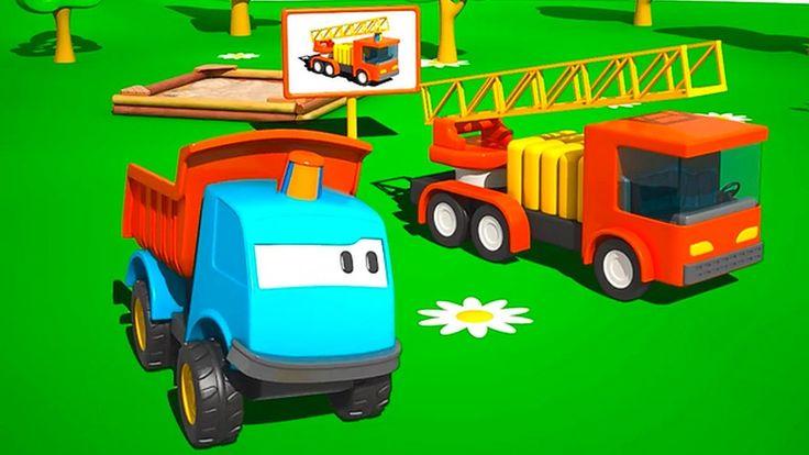 Léo et le camion de pompiers - Dessin Anime pour les enfants - complet e...