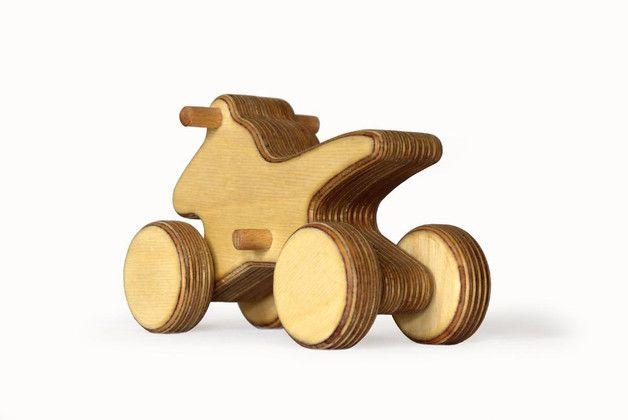 Holzspielzeug - rontool QUAD / Geländefahrzeug / ATV - ein Designerstück von ronronron bei DaWanda