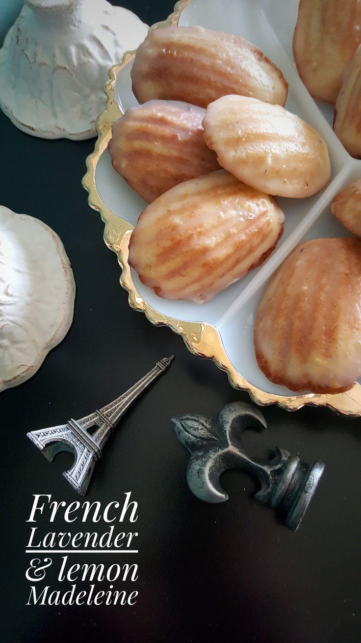 French Lavender & Lemon Madeleine
