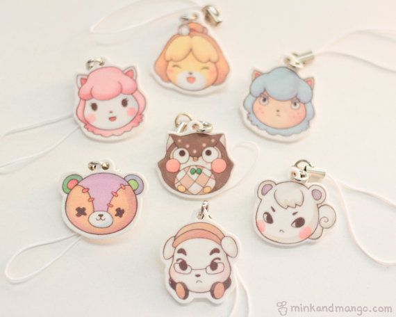 Animal Crossing Charms by minkandmango on Etsy