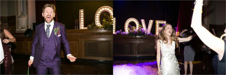 Quirky rock + roll wedding at Islington Assembly Hall | Emma + Chris
