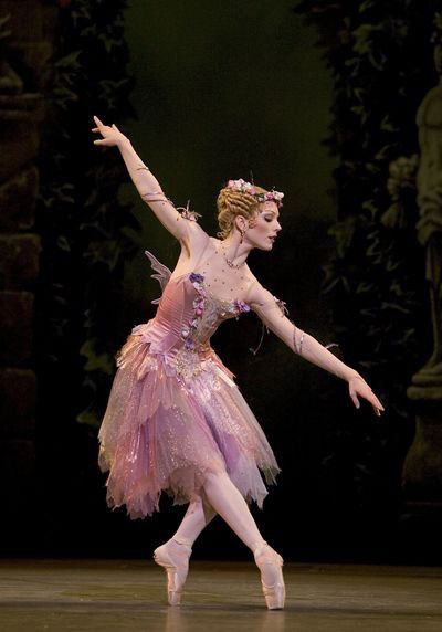 """Sarah Lamb as The Summer Fairy in """"Cinderella"""" (Royal Ballet) - Photo by Bill Cooper"""