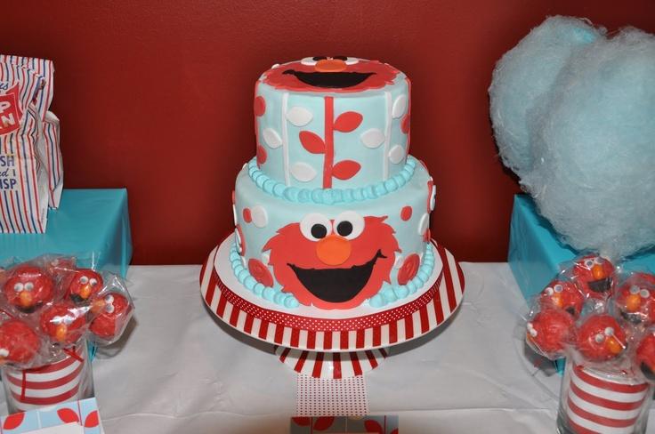 Awesome cake! Thinking of making it: Elmo Birthday Parties, Awesome Cakes, Elmo Birthday Cakes, Parties Ideas, 2Nd Birthday, Elmo Parties, Carnivals Elmo, Elmo Cakes, Birthday Ideas