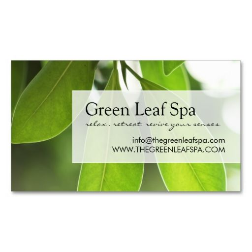 The 25+ best Spa business cards ideas on Pinterest Beauty salon - business card sample