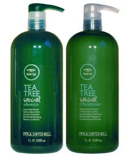 Paul Mitchell Tea Tree Special Shampoo and Conditioner; Smells so good. The tea tree oil works as a natural relaxant and massage for your scalp.