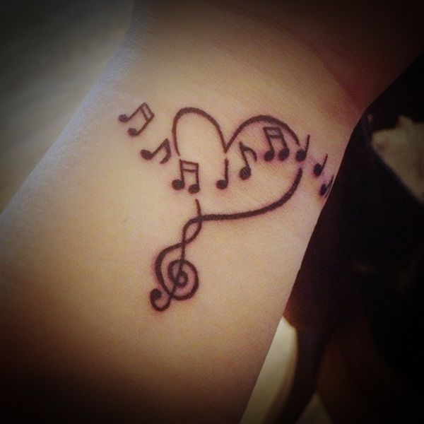 27 Cool Music Tattoo Designs and Ideas