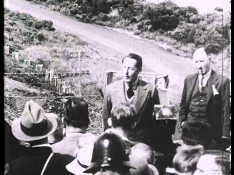 Opening of the Great Ocean Road, 1936