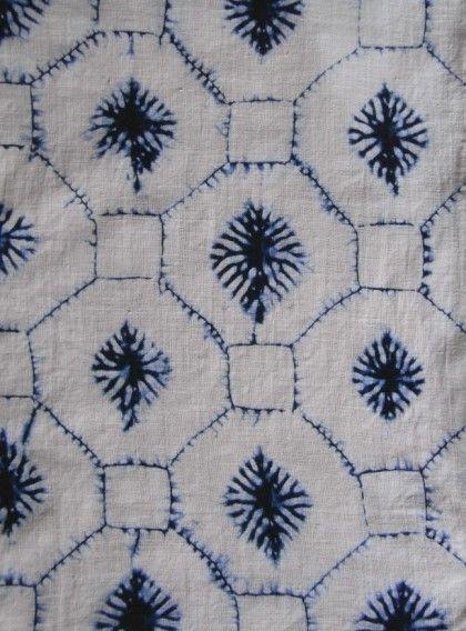 pattern + indigo