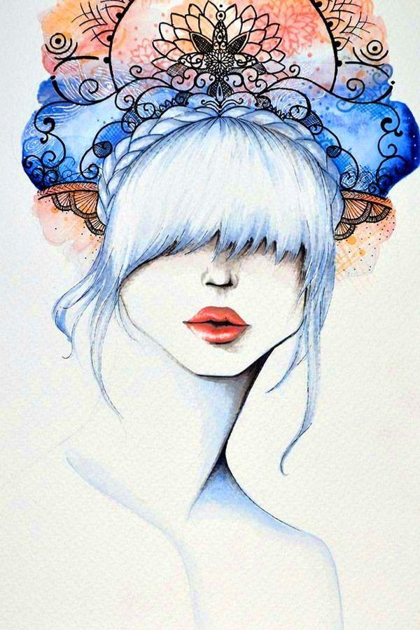 Padma by Laura De la Hoz, via Behance