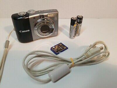 Canon Powershot A1000 Is 10 0mp Digital Camera Gray Powershot Digital Camera Canon Powershot