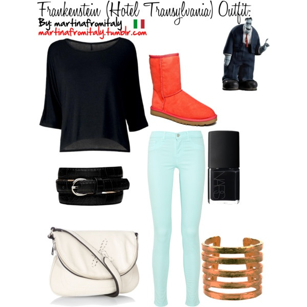 """Frankenstein (Hotel Transylvania) Outfit:"" by martinafromitaly on Polyvore"