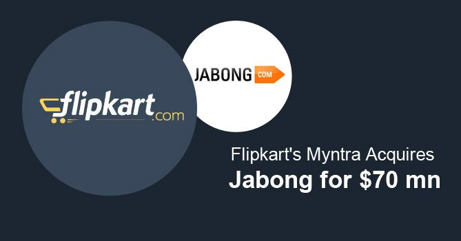 in the #market of drying funds, why are startups buying other startups? #ShareYourOpinion #Posticker Myntra Jabong Flipkart