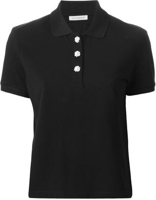 J.W. Anderson short sleeved polo shirt - Shop for women's Shirt - BLACK Shirt