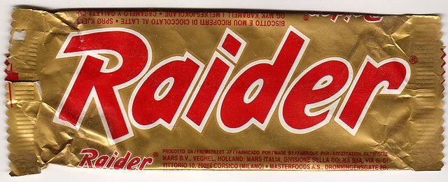 Raider 1988 (before it went Twix) #food #snack