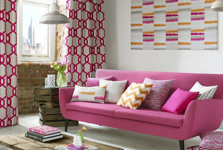 100 best Ashley Wilde Fabrics images on Pinterest | Fabric wall ...