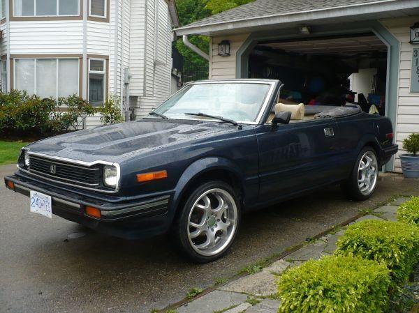 1982 Honda Prelude Convertible