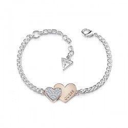 ¡La Quiero! A que está chulísima esta entre muchas #pulseras de #plata que ofrece #guess. Sus corazones rosa y plateado con #cristales lucirán perfectas en tu #muñeca. https://joyeriamargamira.com/27-pulseras pulseras online para amigas pulseras grabadas para amigas pulseras de plata para amigas pulseras de oro para amigas pulseras para regalar a amigas pulseras #amistad personalizadas pulseras amistad plata pulsera regalo reyes pulseras para #novias #españa #alicante #joyeria