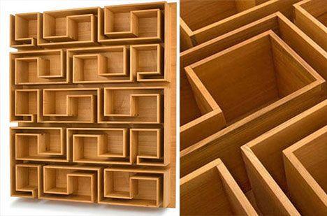 maze-bookcase