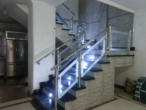 Las 25 mejores ideas sobre pasamanos en acero inoxidable - Pasamanos de acero inoxidable para escaleras ...