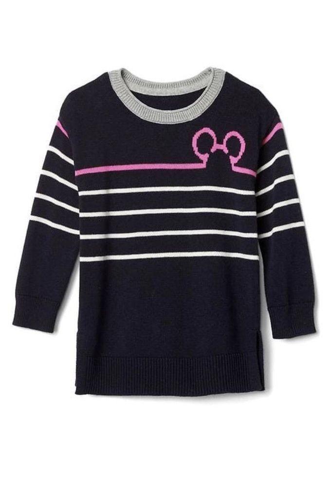 3 T Baby Gap Disneys 2pc Minnie Mickey Mouse Sweater Dress Tunic