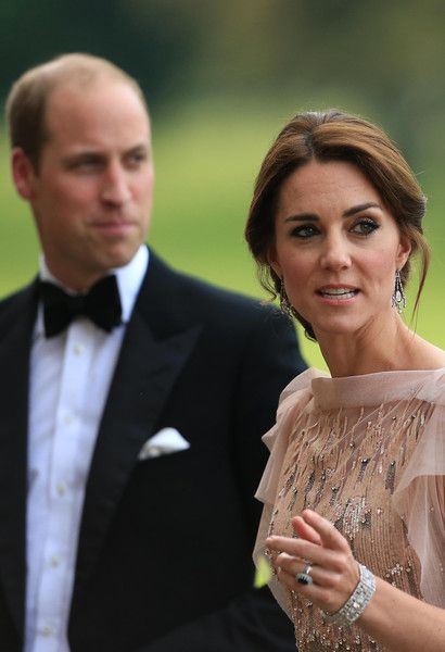 Prince William, Duke of Cambridge and Catherine, Duchess of Cambridge attend a gala dinner in support of East Anglia's Children's Hospices' nook appeal at Houghton Hall on June 22, 2016 in King's Lynn, England.