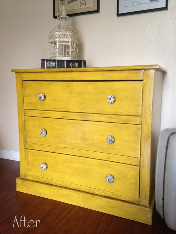 How to refurbish a particle board/laminate dresser