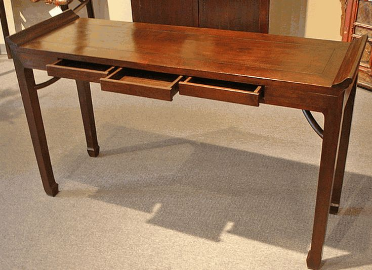 Asian Furniture: Ming Style Altar Table From Beijing, China