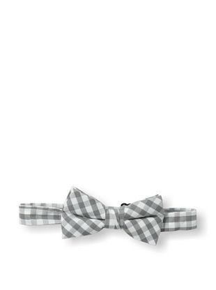 26% OFF Urban Sunday Kid's Grey Gingham Bow Tie (Grey/White)